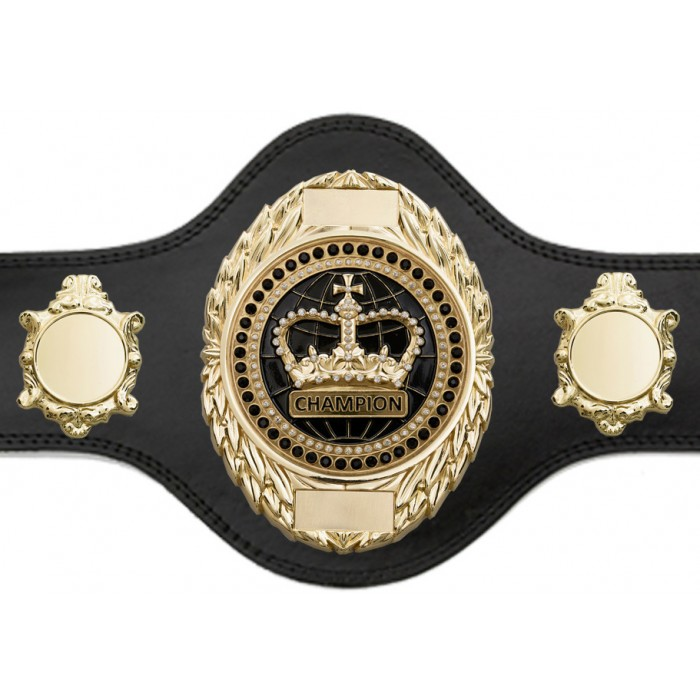 CHAMPIONSHIP BELT - PLT286/G/BLKGEM - AVAILABLE IN 4 COLOURS